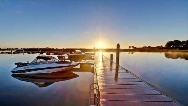 Sunrise over Portrun