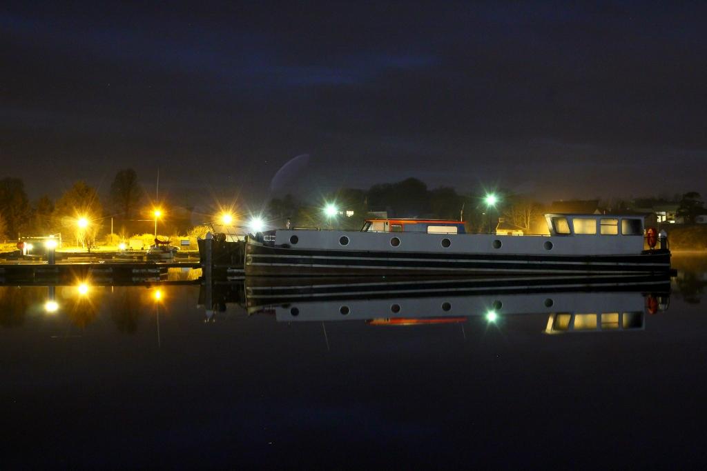 Barge at Portrun